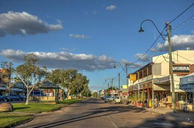 Winton, Queensland, Australia (source: flickr / Chris Fithall, creative commons)