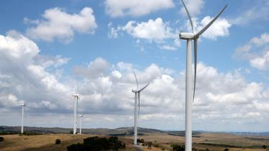 The Woodlawn Wind Farm in New South Wales.