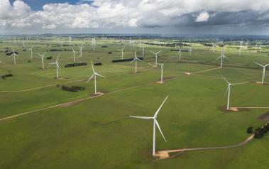 Vestas turbines at the Macarthur wind farm (Image courtesy of Vestas Wind Systems A/S)