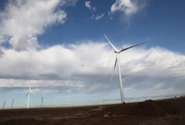 E.ON wind turbines (Photo: courtesy of E.ON)