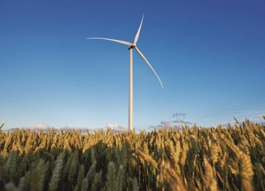 Siemens 3.3-MW turbine (Siemens photo)