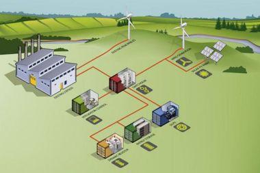 Flinders Island Hybrid Energy Hub (Image: Hydro Tasmania)