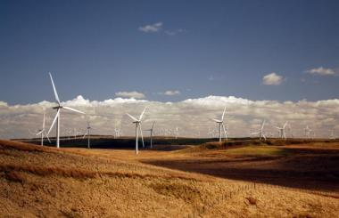 Scottish onshore wind farm (Picture courtesy of ms.akr)
