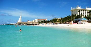 Aruba's Palm Beach