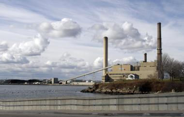 Salem Harbor Power Station (File photo / The Associated Press)