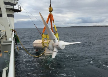 Tidal turbine (Atlantis Resources image)