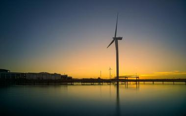 Wind turbines in Estonia (Author: Alejandro Erickson, CC BY-SA)