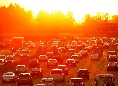 Traffic on the 101 Freeway in Los Angeles (Photo: Al Seib / Los Angeles Times / TNS)
