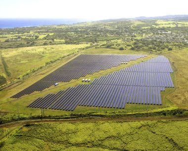 Solar farm in Koloa (Courtesy of SolarCity)