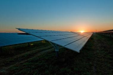 A solar power plant in San Antonio, Texas. Credit: Duke Energy/flickr