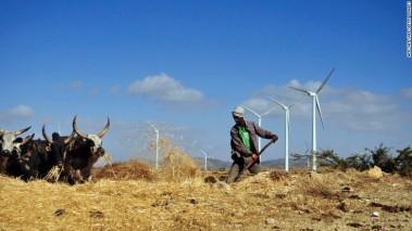 Ethiopian wind farm