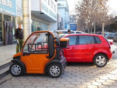 Low-speed electric vehicle (Image: Dennis Zuev)
