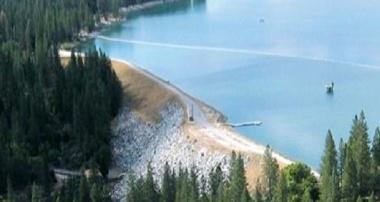 Bass Lake (photo courtesy Crane Valley Dam)