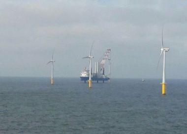 Belwind offshore wind farm (Credit: Parkwind)