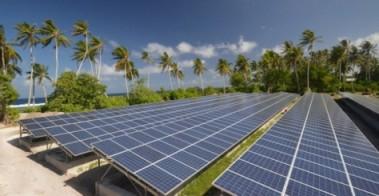 Samoan solar array