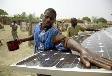 Off-grid solar in Africa