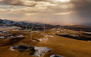 Wind farm in Idaho (Author: Blatant Views, CC BY-SA)