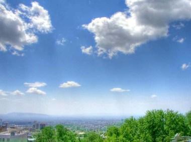 Tehran Sky (Credit: Hamed Saber via Flickr)