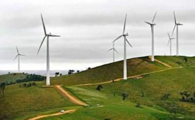 African wind farm