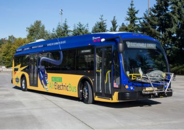 Electric bus (Image: King County)