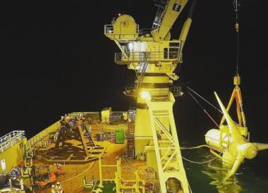 Olympic Ares at work (Photo: Atlantis Resource)