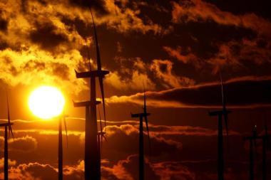 Black Law wind farm in Scotland