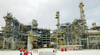 Gas plant in Qatar