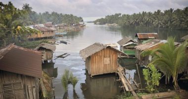Fishing village in Mindanao