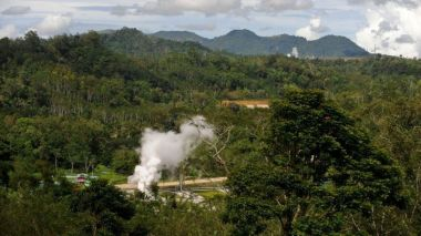 Geothermal power plant (Photo: Asian Development Bank.)