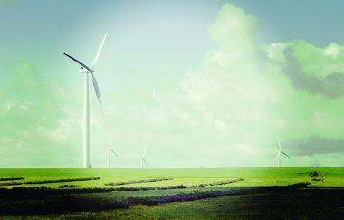Wind farm (Shutterstock image)