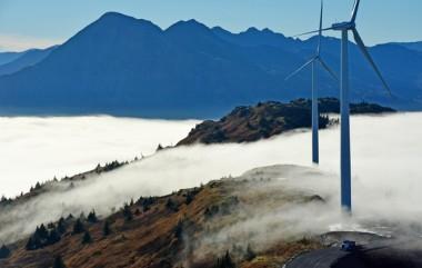 Wind turbines in Kodiak (James Brooks photo)
