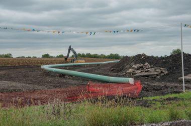 Dakota Access Pipeline section in Iowa (Carl Wycoff, Wikimedia Commons)