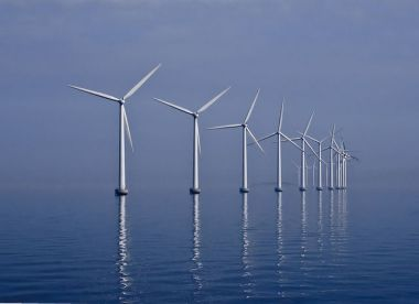 A wind farm in Copenhagen (Kim Hansen)