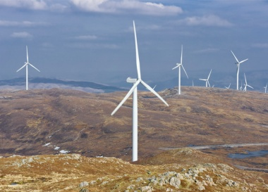 Millennium wind farm (Image: Falck Renewables)