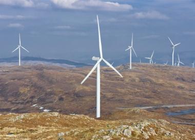 Millennium wind farm (Image: Falck Renewables)