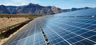 Solar power in New Mexico (credit: Depositphotos)