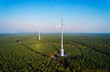 GE wind turbines