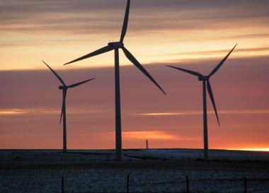 Onshore wind farm (credit: MorgueFile)