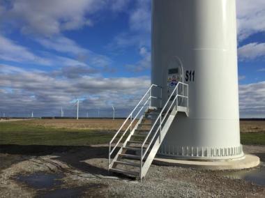 North Carolina wind farm (Avangrid Renewables image)