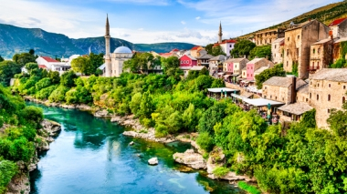 Town in Albania (Shutterstock image)