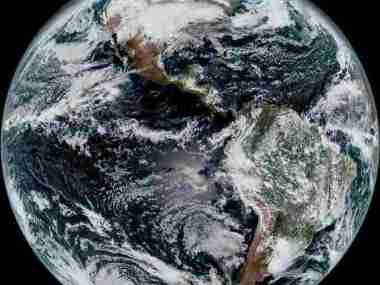 Earth as seen from a NOAA weather satellite (Photo: NOAA / NASA)