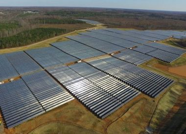 17-MW Powhattan solar array (credit: Dominion)