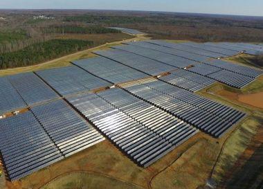17-MW Powhattan solar array (credit: Dominion)