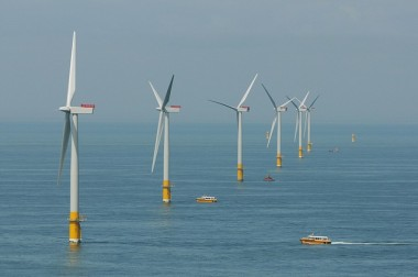 Greater Gabbard offshore wind farm, Suffolk, England (Image: Department of Energy and Climate Change, CC BY-NC-ND 2.0)