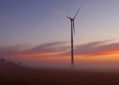Wind turbine (credit: SXC)
