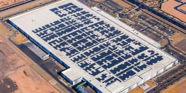 Apple facility in Mesa, Arizona