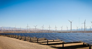 Nevada wind and solar (adamkaz / iStockphoto)