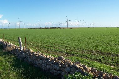 Wattle Point wind farm near Edithburgh (Wikimedia Commons)