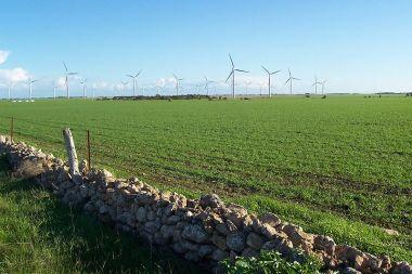 Wattle Point wind farm near Edithburgh (Wikimedia Commons)