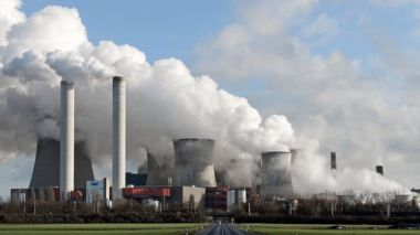 RWE's Niederaussem power plant in Bergheim, Germany (EPA)
